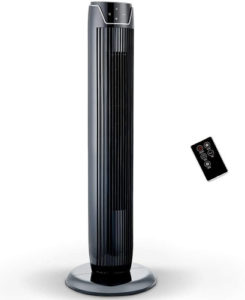 PELONIS Fan, Oscillating Tower Fan with LED Display