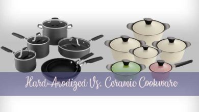 Hard-Anodized Vs. Ceramic Cookware