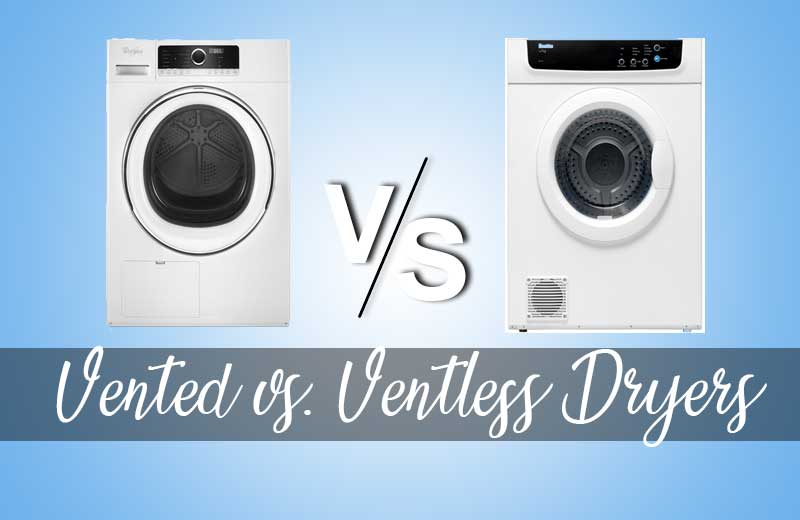 Vented vs. Ventless Dryers