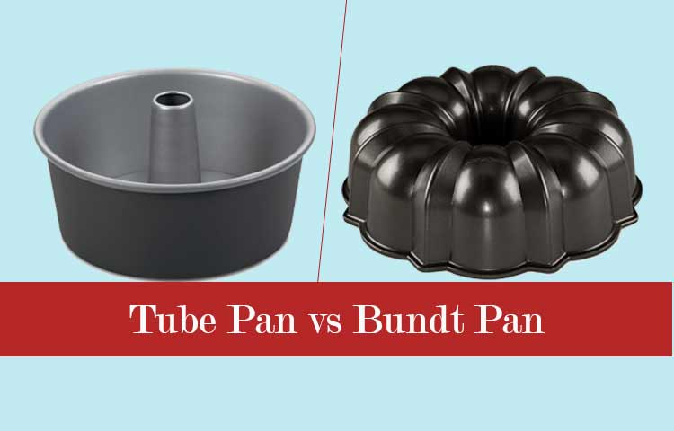 tube pan vs bundt pan